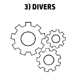3) DIVERS