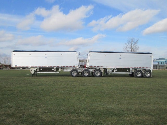 B-train plancher mobile - Titan trailers